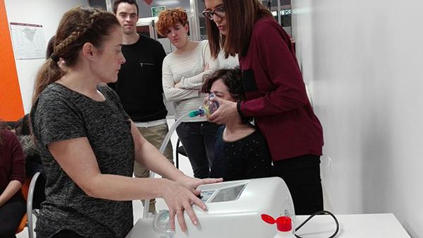 Un curso de 'Fisioterapia respiratoria en Pediatría' excepcional y muy participativo