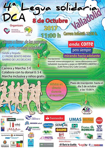 Cartel IV Legua Solidaria