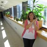 La actriz Neus Sanz nos habla de su voluntariado en el Hospital Beata María Ana