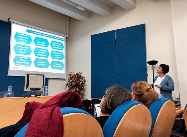 Tres de nuestros neuropsicólogos comparten en Salamanca pautas para la mejora de la calidad de vida de personas con DCA