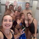 La UDC del Hospital Beata María Ana inicia una actividad deportiva acuática