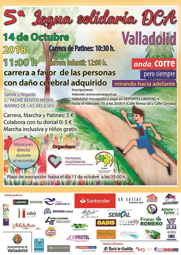 V Legua Solidaria por el DCA junto a la Asociación de Daño Cerebral Adquirido 'Camino'