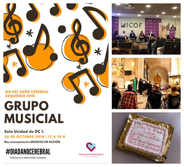 En Madrid, Valencia y San Sebastián también celebramos el Día del Daño Cerebral
