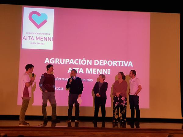 La Agrupación Deportiva Aita Menni, lista para la nueva temporada