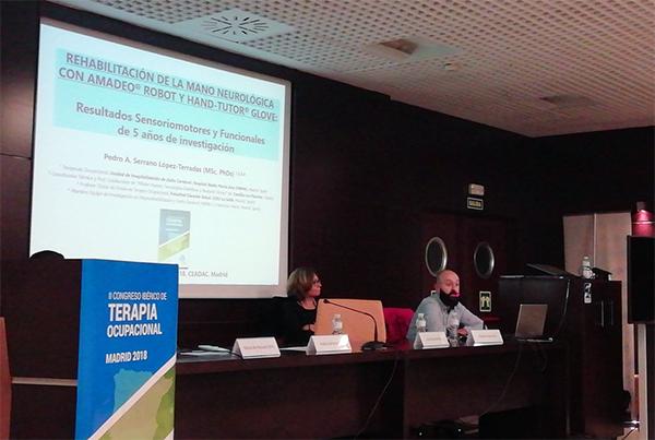 Nuestra aportación al II Congreso Ibérico de Terapia Ocupacional