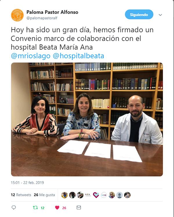 Convenio Paloma Pastor