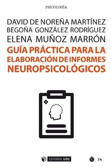 Elaboración de informes neuropsicológicos