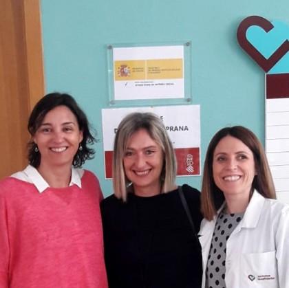 La secretaria de Servicios Sociales y Autonomía Personal de la Generalitat Valenciana visita nuestro centro