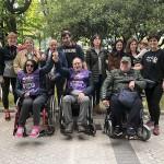 El Centro de Día de Daño Cerebral de Zuatzu, con la Korrika