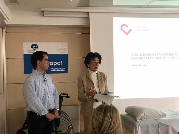 Movilización, transferencias y manejo postural de personas con discapacidad neurológica