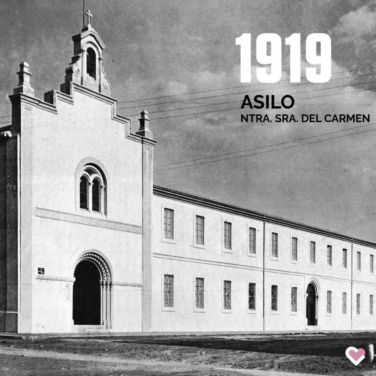 Fachada Asilo Ntra. Sra. del Carmen, 1919