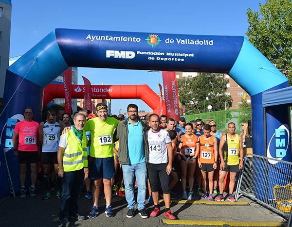 Gran ambiente y participación en la Legua Solidaria por el DCA de Valladolid
