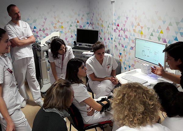 Nuestra Unidad de Daño Cerebral en Madrid sigue apostando por la robótica para la rehabilitación de sus pacientes