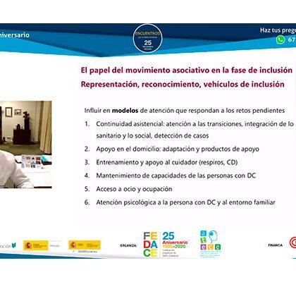 Atención a la inclusión de las personas con daño cerebral