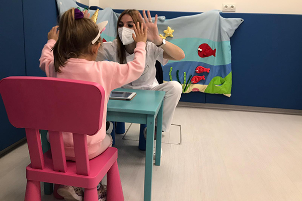 La Psicología como parte de la terapia integral en la Unidad de Rehabilitación Infantil de Bilbao