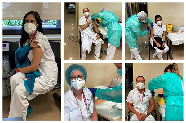 La vacuna contra la covid-19 llega a nuestras unidades
