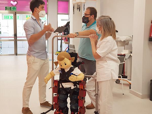 Marsi Bionics nos presenta su exoesqueleto infantil pionero en el mundo y la ortesis activa de rodilla MAK