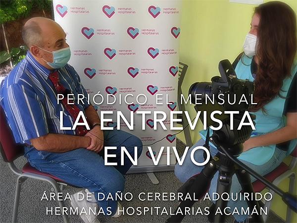 'La Entrevista en Vivo',  para conocer a cada integrante del equipo más allá del terreno profesional