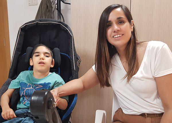 """Iris Infante: """"Hacemos todo lo posible para que Markel reciba las terapias que necesita"""""""